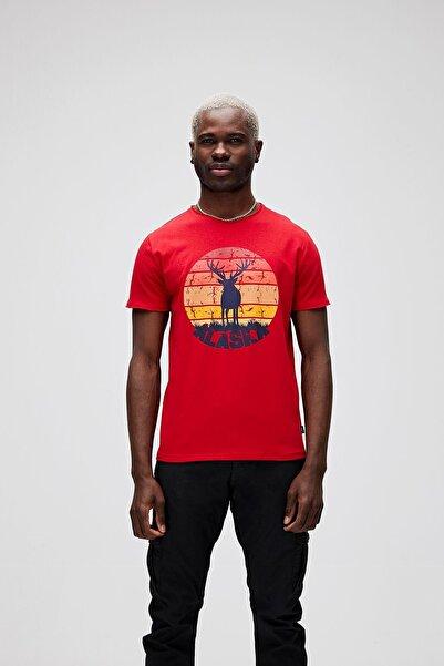 Bad Bear Erkek T-shirt Alaska Deer Tee 21.01.07.001