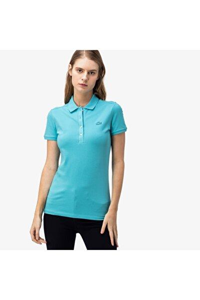Lacoste Kadın Mavi Polo PF5462P