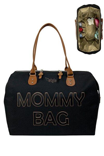 Stylo Mommy Bag Anne Bebek Bakım Çantası-siyah
