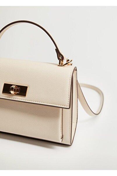 MANGO Woman Kapaklı Çanta