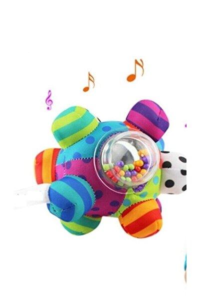 Sozzy Toys Sozzytoys Çıngıraklı Renkli Topum