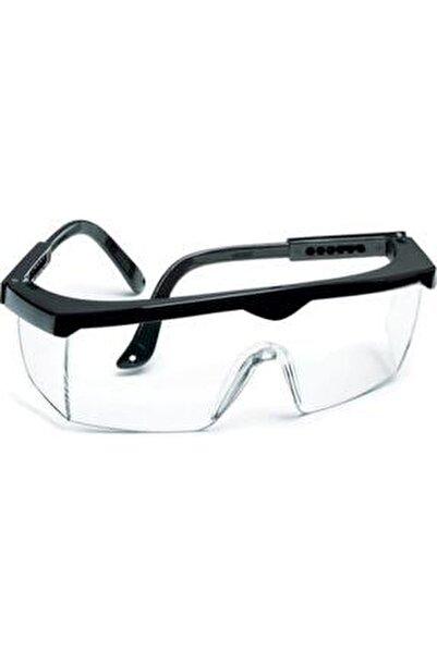 Ayarlı Çapak Gözlüğü Şeffaf Ce Koruyucu Gözlük