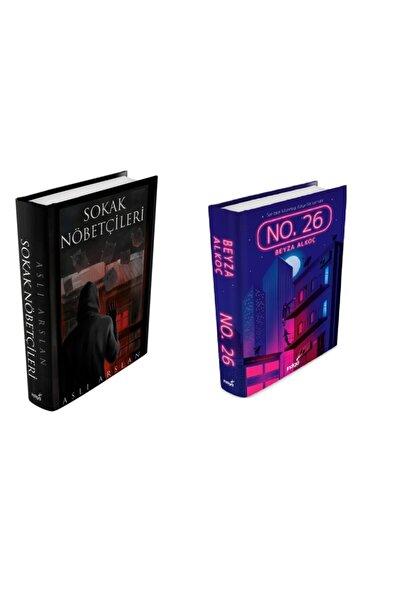 İndigo Kitap Beyza Alkoç No. 26 Ciltli Ve Sokak Nöbetçileri Ciltli ( Poster Ve Ayraçlı ) Özel Seri 2 Kitap Set