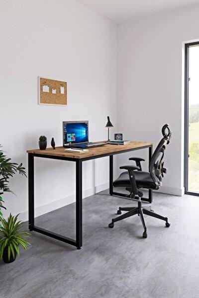 Ceramical Çalışma Masası Bilgisayar Masası Ofis Masası - Atlantik Çam 60 X 140 Cm
