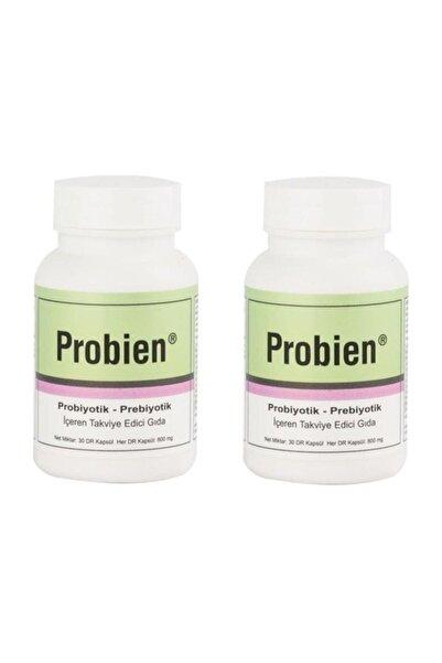 Probien Probiyotik Ve Prebiyotik, Sinbiyotik 30 Kapsül X 2 Adet. Tett: 8/2022