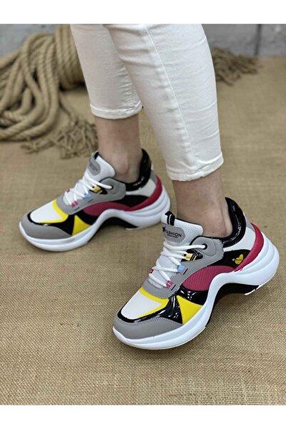 Twingo Kadın Spor Ayakkabı 601 - Beyaz Nar