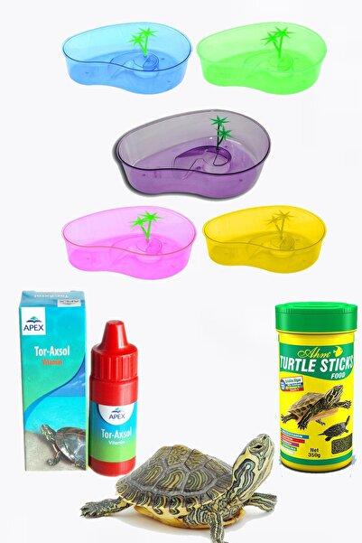 Apexis Kaplumbağa Bahçesi , Kaplumbağ Yemi Ve Vitamin Seti