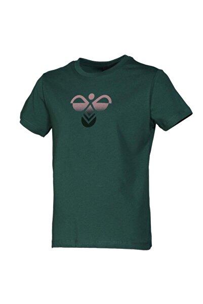 HUMMEL Çocuk Yeşil Janquıl Kısa Kollu Tişört