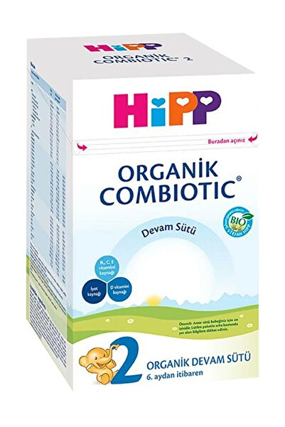 Hipp Organik Combiotic Devam Sütü 2 Numara 800 gr