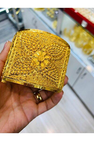 rich lion Altın Kaplama Hint Kelepçe