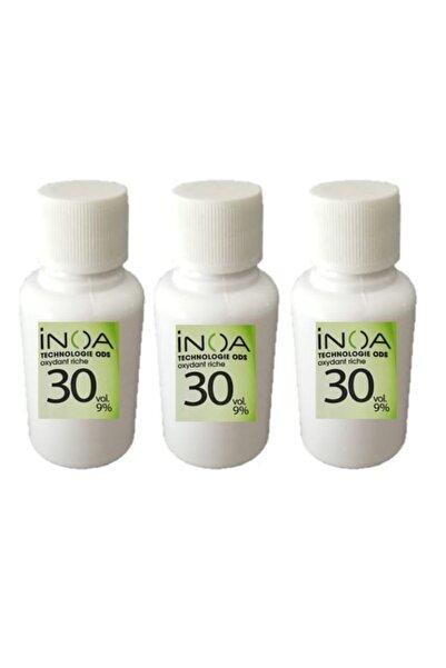 İNOA Boya Açıcı 30 Vol %9 Oksidan 60 Ml * 3 Adet