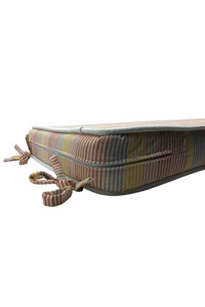 Taka Fabrics Active 133, Bahçe, Outdoor Sandalye Minder Kılıfı Solmaz 3 Yıl Garantili (43CMX43CMX8CM ÖLÇÜ)