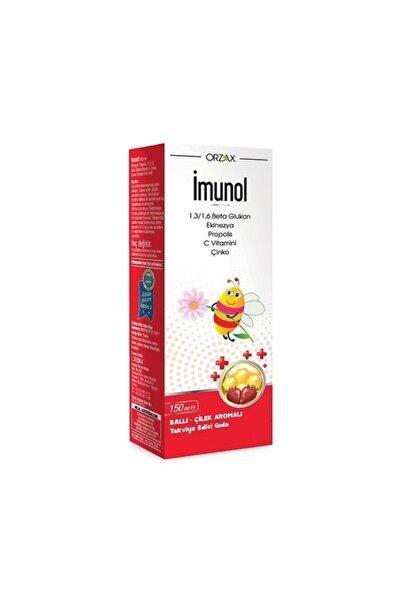 İMUNOL Imunol Ballı Ve Çilek Aromalı Şurup 150 Ml