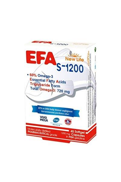 New Life Newlife Efa Omega3 S-1200 45 Kapsül