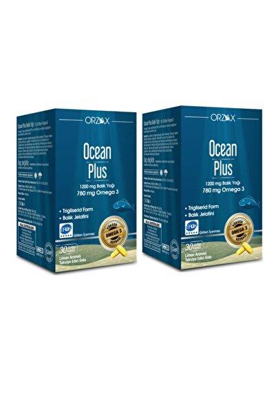 Ocean Plus Omega 3 1200 mg 30 Kapsül X2 Adet