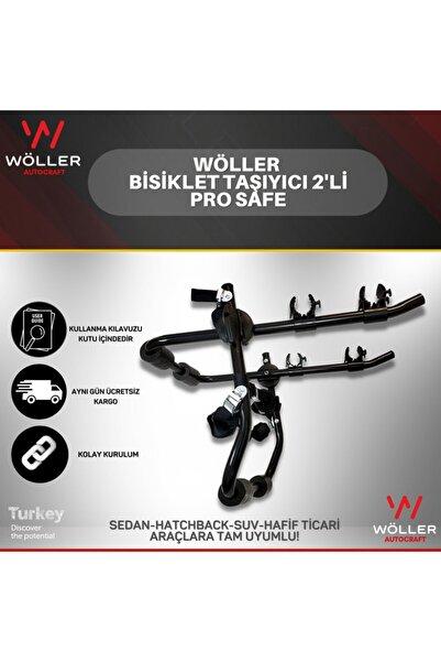wöller Bisiklet Taşıyıcı 2'li Bisiklet Taşıma Aparatı Pro Safe