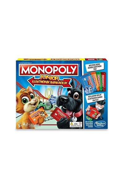 Monopoly Hasbro Monoploy Junior Elektronik Bankacılık E1842