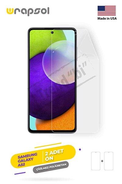 Wrapsol Samsung Galaxy A52 Ekran Koruyucu, Darbe Emici Amerika Üretimi