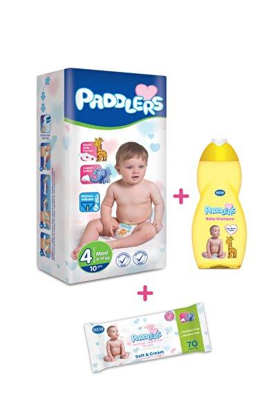 Paddlers Bebek Bezi 4 Numara Maxi (8-19 KG) Tanışma Seti