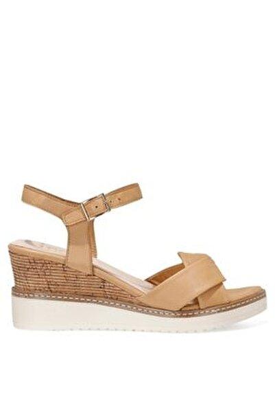 TERI.Z 1FX Kahverengi Kadın Dolgu Topuklu Sandalet 101033768