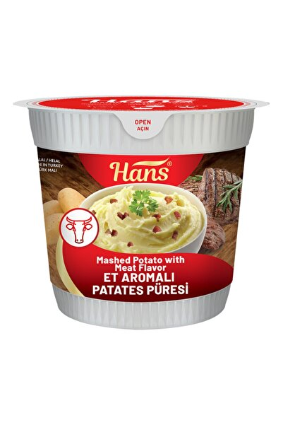 Hans Et Aromalı Patates Püresi 5 Adet