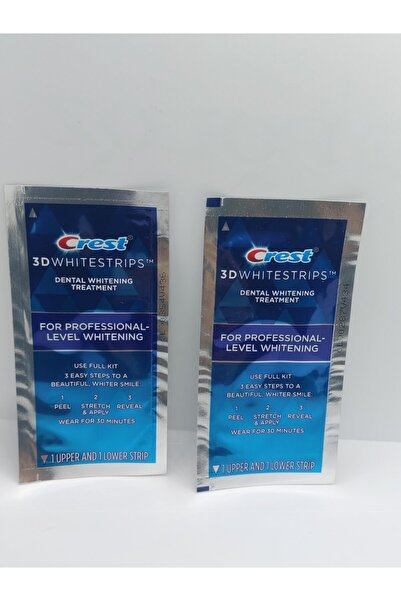 CREST 3d White Professional Effects Diş Beyazlatma Bantları (4 Bant) 3d Whitestrips 4/2