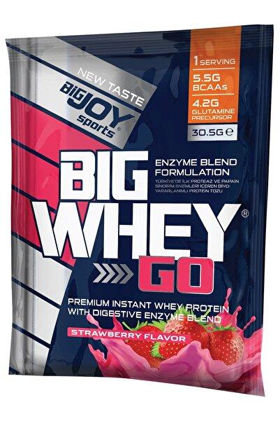 Bigjoy Sports Bigjoy Bigwheygo Whey Protein Tozu Çilek 1 Adet