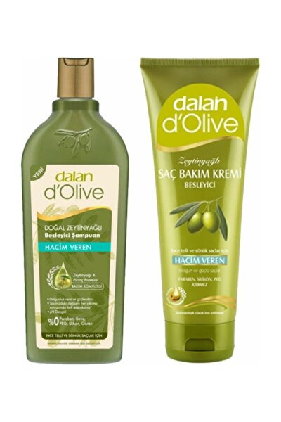 Dalan Hacim Veren Şampuan 400 Ml + Hacim Veren Saç Kremi 200 Ml