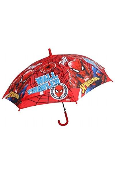 Frocx Spider-man Wall Crawler Erkek Çocuk Şemsiyesi - Kırmızı - 44637