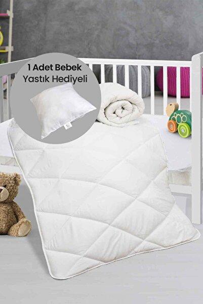 Elart Mikrofiber Silikon Dolgulu Bebek Yorganı - Bebek Yastık