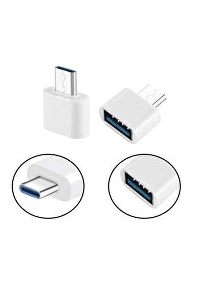Usb Type-c Dönüştürücü Otg Çevirici Adaptör Metal Xiaomi - Samsung - Huawei - Macbook Dönüştürücü