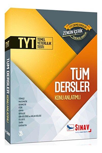 Sınav Yayınları Tyt Tüm Dersler Konu Anlatımlı Tek Kitap