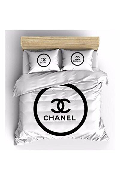 Moda Chanel Arg Cotton Çift Kişilik Nevresim Takımı Q00123
