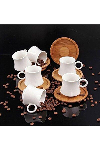 New Life Bambu Kahve Fincan Seti 6kişilik