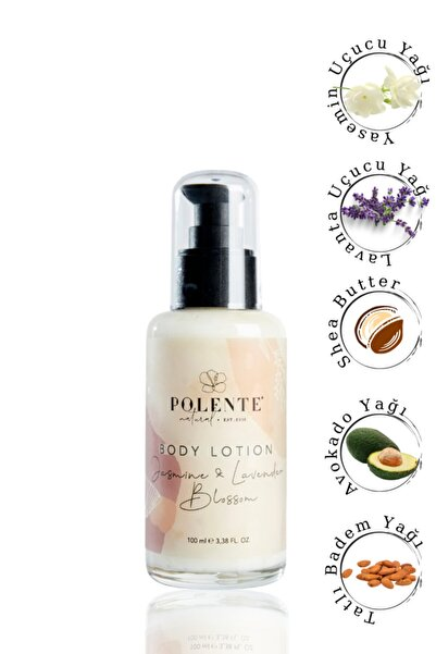 Polente Natural Vücut Losyonu - Yasemin & Lavanta Nemlendirci Losyon