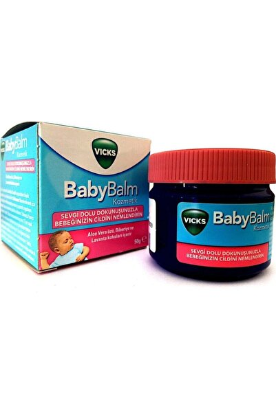 Vicks Baby Balm Nemlendirici 50 gr Aqua Pure