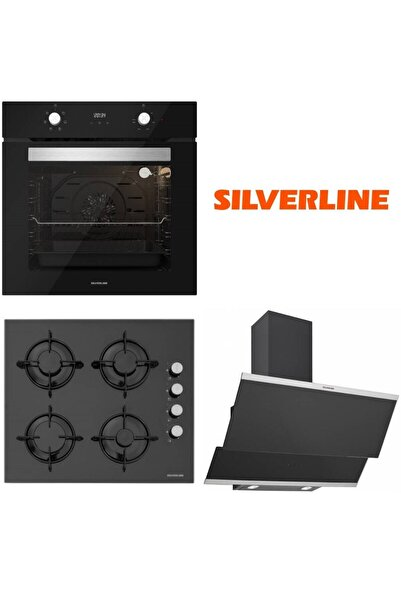 Silverline Siyah Ankastre Set Bo6502b02 - Cs5349b01 - 3420 Classy