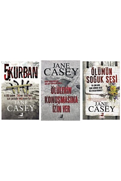 OLİMPOSS Jane Casey Gerilim Seti 3 Kitap