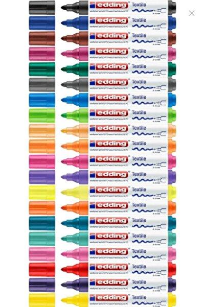 Edding Kumaş Boyama Kalemi 2-3 Mm Tüm Renkler (20renk)
