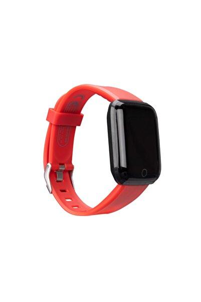 Everest Kırmızı Watch Ew-508 Android/ıos Smart Watch Kalp Atışı Sensörlü Akıllı Saat