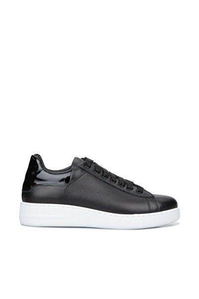 Network Kadın Siyah Deri Sneaker 1080142