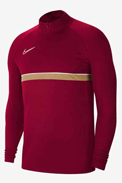 Nike Df Acd21 Dril Top Erkek Eşofman Üst Cw6110-677-bordo