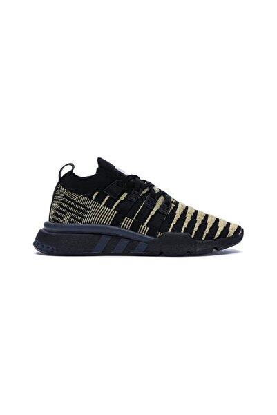 adidas Erkek Siyah Gold Detaylı Koşu Ayakkabısı Eqt Support Mid Adv Pk Dragon