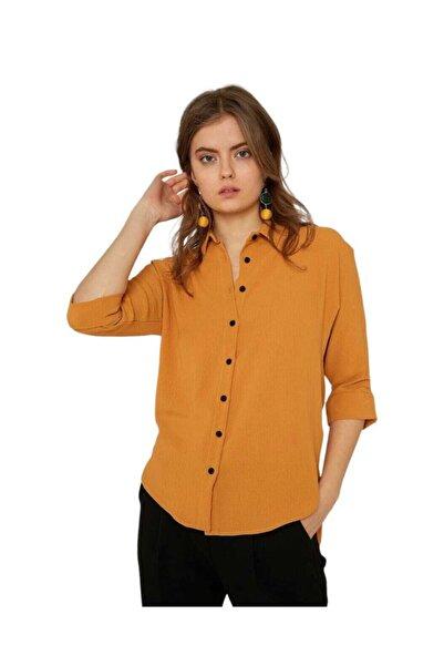 Mixray Kadın Sarı Giyim Gömlek