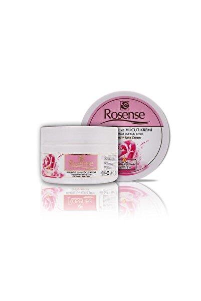 Rosense Besleyici El Ve Vücut Gül Kremi Vazo 250 ml