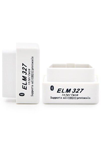 Streak Elm327 2.1 Beyaz Bluetooth Araba Türkçe Araç Arıza Tespit Cihazı