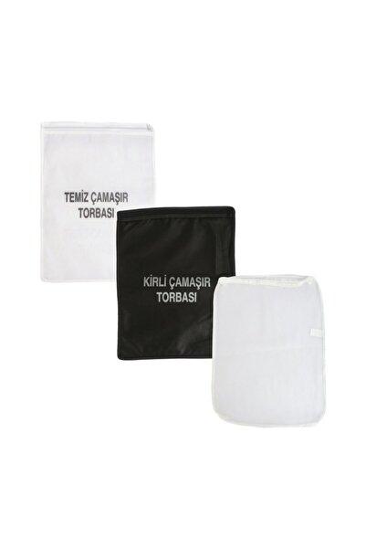 Seyhan Kirli-Temiz-File Çamaşır Torbası Seti
