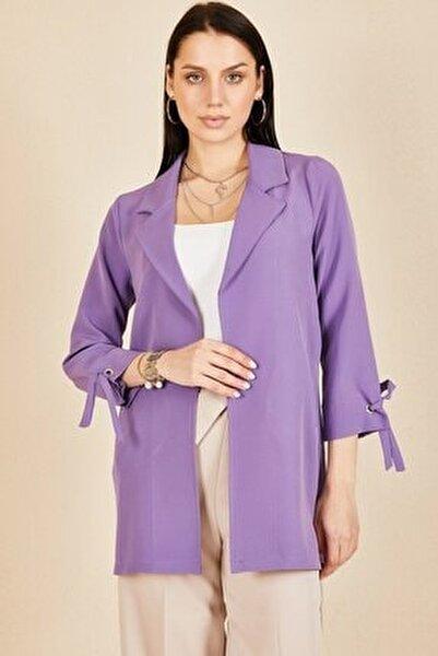 Kadın  Kol Kuşgözü Bağlama Ceket