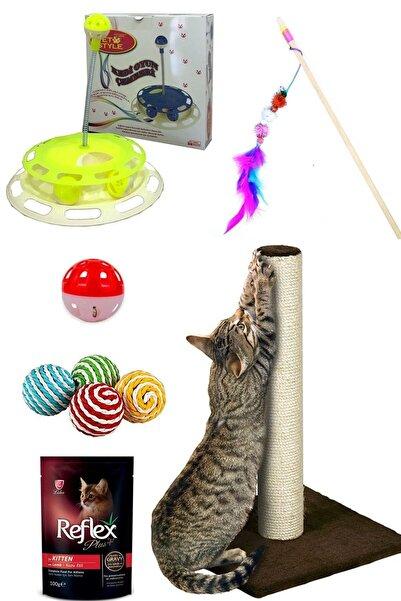 Pet Style Kedi Tırmalama Tahtası Ve Oyun Paketi