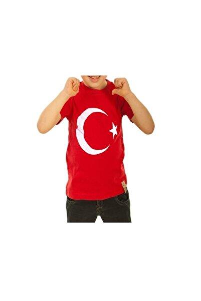 Gazi Ticaret Ay Yıldızlı Türk Bayraklı Çocuk Tshirt